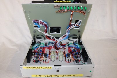 Inside wiring of functional test fixture